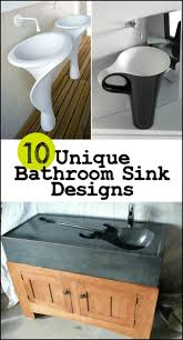 82 best bathroom ideas images on pinterest bathroom ideas see 10 of the most unique sink designs that anyone would love to have on our