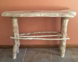 Wood Slab End Table by Wood Slab End Table With Hairpin Legs