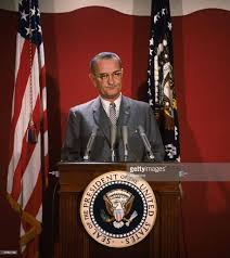 president johnson pictures getty images