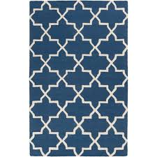 Geometric Area Rug by Artistic Weavers Pollack Stella Navy 3 Ft X 5 Ft Indoor Area Rug