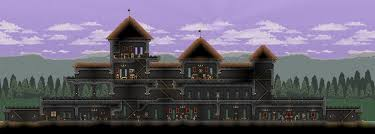 starbound houses question to those that make amazing bases houses structures