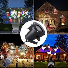 Outdoor Snow Light Projector by Laser Projektor Lampe Weihnachten Weihnachten Snow Flake Licht
