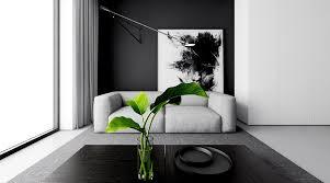 black white interior 30 black white living rooms that work their monochrome magic