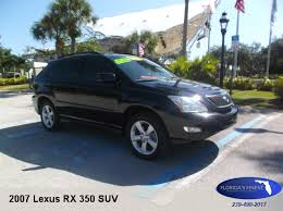 2007 lexus rx 350 price vehicle details florida s finest used cars 10380 bonita rd