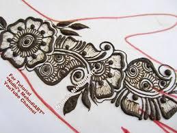 latest arabic henna mehndi design for hand 2017 tutorial youtube