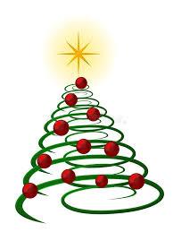 spiral christmas tree spiral christmas tree stock illustration illustration of