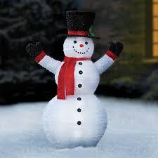 Light Up Snowman Outdoor Outdoor Lit Snowman Probrains Org