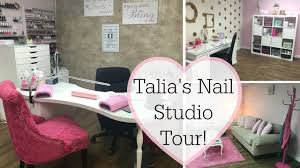 nail room idea nail technician room home nail salon decorating