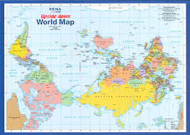 Real World Map Map With A Difference U2022 U2022upside Down World Map U2022 U2022 3508 2480px
