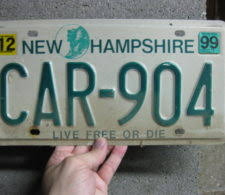 New Hampshire Vanity Plate Describe Yourself In Seven Characters An Ode To The Vanity Plate