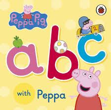 peppa pig abc with peppa amazon co uk ladybird 9780723292098