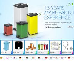 household products guangzhou aemaxx household products co ltd bathroom set dustbin