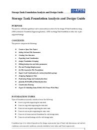storage tank foundation design guide doc deep foundation