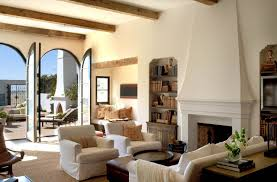 interior great mediterranean style home interior living room