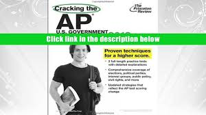 read book cracking the ap u s government politics exam 2013