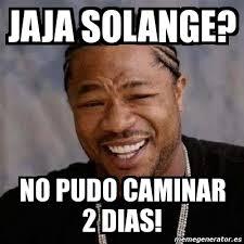 Solange Meme - meme yo dawg jaja solange no pudo caminar 2 dias 27282
