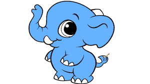 baby elephant coloring page for kids youtube