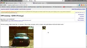 Craigslist Nj Furniture By Owner by Craigslist Augusta Ga Used Cars And Trucks For Sale By Owner Low