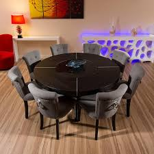 Dining Room Table Seats 8 Large Round Dining Table Seats 8 Fashiontruck Us