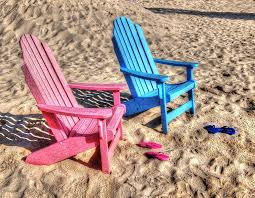 flip flop chairs pink and blue chairs with matching flip flops digital by