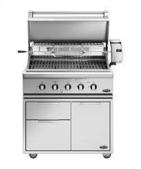 Dcs Outdoor Kitchen - dcs 36 inch professional gas grill with rotisserie on cart