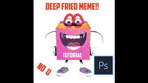 Make A Fry Meme - 1 minute how to make deep fried meme in photoshop youtube