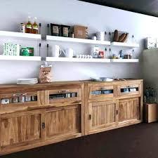 meubles de cuisine en bois meuble cuisine en bois brut facade meuble cuisine bois brut
