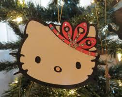 Hello Kitty Christmas Tree Decorations Hello Kitty Princess Etsy