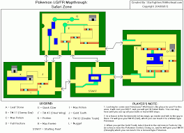 safari zone map firered version safari zone map for boy advance by