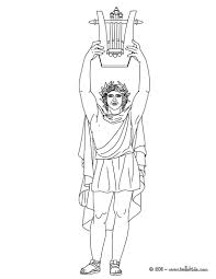 god poseidon coloring pages hellokids com
