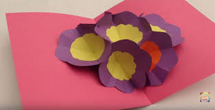 day cards to make make a 3d flower pop up card make it and it
