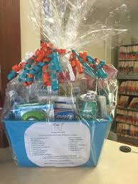 office gift baskets primary dental office is raffling a beautiful gift basket of