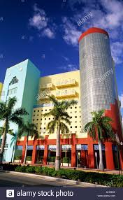 modern art deco building miami beach miami florida usa stock photo