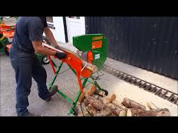 Log Saw Bench Max Axe Electric Log Saw Www Hartnett Products Ie Youtube