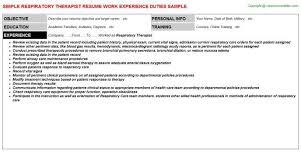 respiratory therapist resume objective respiratory therapist resumes 8 respiratory therapist resume