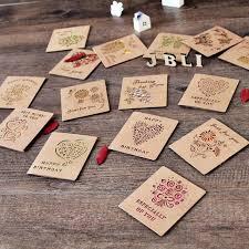 aliexpress com buy 6 pcs lot floral folding greeting card thank