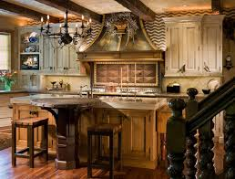 kitchens country elegant home design