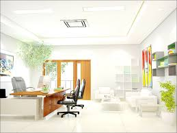 Open Office Interior Design Bedroom And Living Room Image - Home office interior