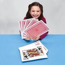 amazon com super jumbo playing cards by s u0026s worldwide toys u0026 games