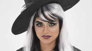Cat Eye Makeup Halloween Tutorial by Halloween Webbed Witch Eyes Makeup Tutorial With Bh Cosmetics