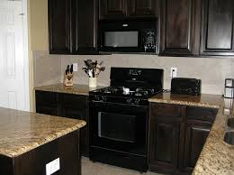 Small Kitchen With Dark Cabinets Kitchens With Dark Cabinets Kitchen Colors With Dark Cabinets