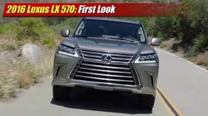 lexus lx us news first look 2016 lexus lx 570 testdriven tv