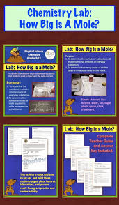 amy brown science chemistry lab how big is a mole