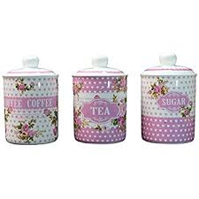 pink canisters kitchen swan swka1020pn set of 3 retro storage canisters pink amazon co uk