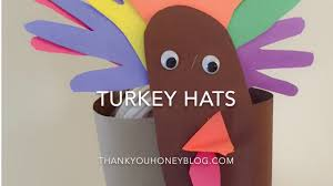 thanksgiving turkey hats