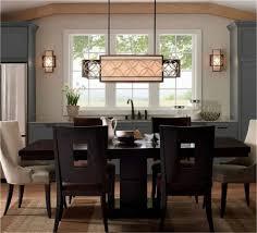 Dining Room Chandelier Lighting Rectangular Dining Room Light Visionexchange Co