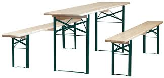 german beer garden table and bench surprising furniture marvellous single leg green beer garden table