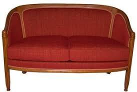 canapé retro rétro chaise fauteuil cabriolet bergere canape salon pouf sieges