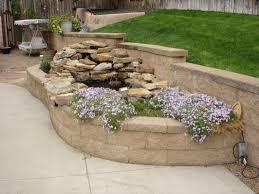 unique garden retaining wall brick planters u2014 umpquavalleyquilters com