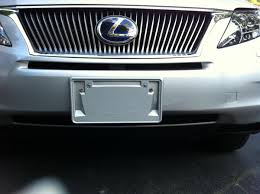 2010 lexus rx 350 price canada 2010 rx 350 front license plate holder page 2 clublexus